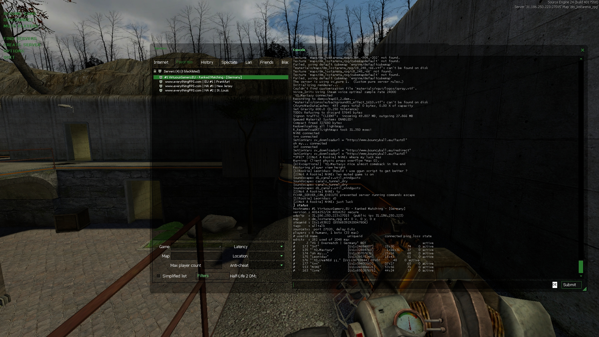 Half-Life 2 Deathmatch - Community for OldSchool Gamers
